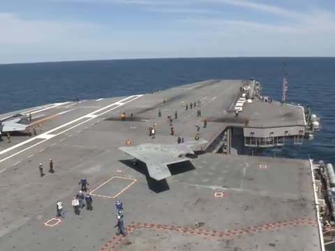 First Unmanned Stealth Drone Launched