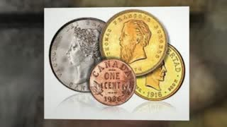 Canadian mint coins - Video