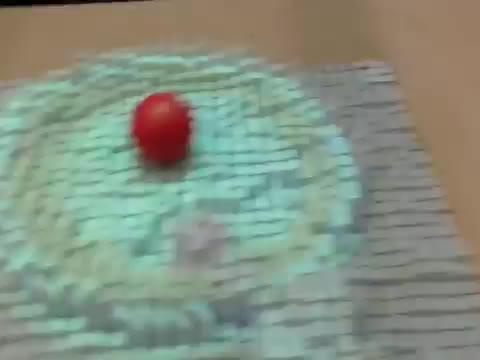 Interactive Morphing Table Surface Copies 3D Objects in Real Time