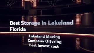 Lakeland Florida Movers - Video