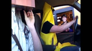 Batnana at the Drive Thru! - Video