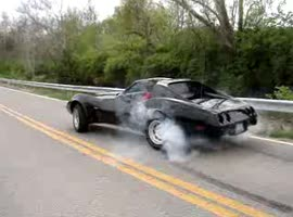 1977 Corvet Burnout - Video