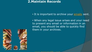 SOME LEGAL ISSUES YOU SHOULD BE AWARE OF while email marketing - Video