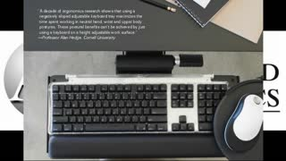 Ergonomics Keyboard from Appliedergonomics - Video