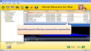 iPod Data Recovery Software - Video