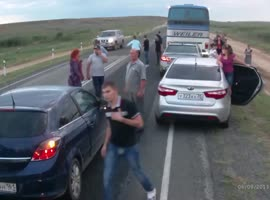 Accident Causes Another Accident - Video