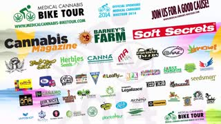 Day 2 2014 medical cannabis bike tour - Video