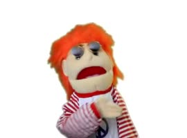 Geeky N Chic Puppet - Video