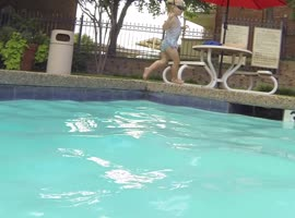 Amazing Baby Swimmer! - Video