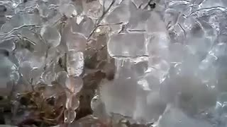 "That's what is called ""freezing rain"" in Krasnodar! - Video"