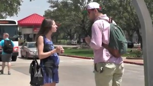 Pregnant girl smoking in public - How would you react? - Video
