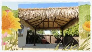 Tropical Island Thatch | Island Thatching - Video