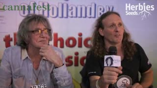 Howard Marks & Shanti Baba @ Cannafest Prague - Video
