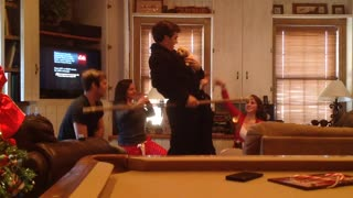 Kids Present Puppy to Parents Lion King Style!