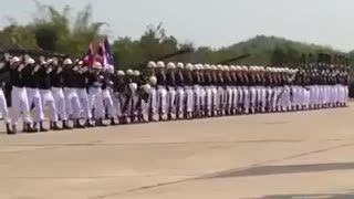 Thai Military Parade - Video