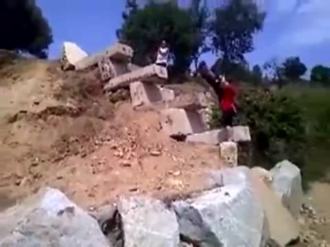Insane Motorcycle Rock Climb Skills