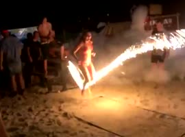 Fire Jump Rope - Video