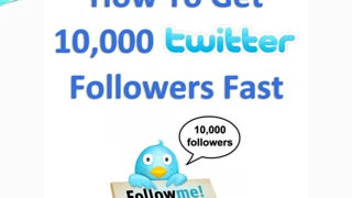 Buy Twitter Followers - Video