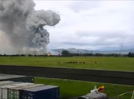 Explosion in Tenjo - Video