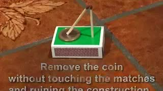 Remove The Coin Without Touch On Hand - Video