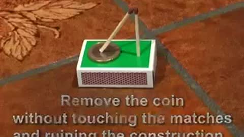 Remove The Coin Without Touch On Hand