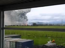 Explosion in Colombia