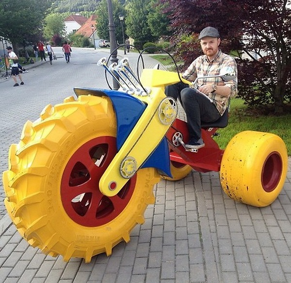 Awesome Homemade Monster Bike ! - Image