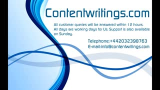 Professional Essay Writing Services from ContentWritings.com - Video