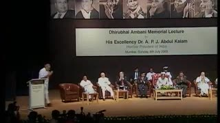 Narendra Modi – Dhirubhai Ambani Memorial Lecture - Video