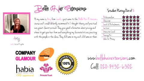 Amy - Leeds - Belle Certified Hair Extensions Expert (Belle Hair Extensions Review)