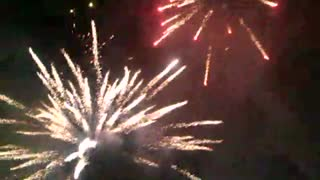 Fireworks in Praga - Video