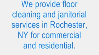 Floor Cleaning Rochester NY - Clean Rite Floor Care Services - Video