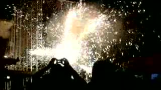 Santa Domenica Fireworks :) - Video
