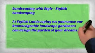 landscape design - Video