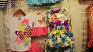Baby Girls and 18 Inch Doll Matching Clothes and Accessories - Video