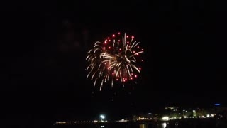 FIREWORKS ON THE SEA - Video