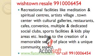 jaypee kensington park plots 9910006454 resale noida wishtown, jaypee kensington park plots wishtown resale - Video