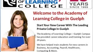 Academy of Learning Career College In Guelph - Video