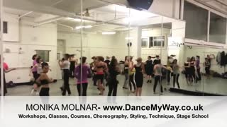 Brazilian Samba with Monika Molnar - DanceMyWay Dance Academy - Video
