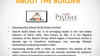 ABL Prime Gurgaon | ABL Prime Pataudi | Properties in Pataudi | Commonfloor - Video