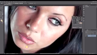 How To Remove Blemishes & Smooth Skin with Photoshop - Video