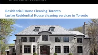 lustreservicestoronto@gmail.com - Video