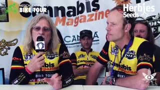 Medical Cannabis Bike Tour @ Spannabis 2014 - Video