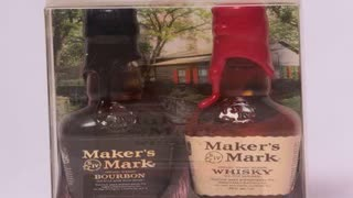 Makers Mark Bottles http://nobrokendrips.com/ - Video
