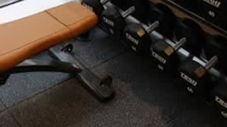 Gym Flooring http://www.rubbergymmats.co.uk/ - Video