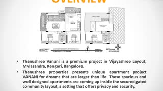 Thanushree Vanani Bangalore | Thanushree Vanani Kengeri | Properties in Kengeri | Commonfloor - Video