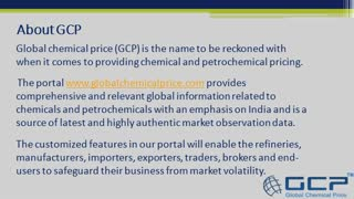 Global chemical price - Video