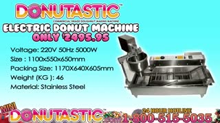 Commercial Kitchen Donut Machines 1-800-515-5035 - Video