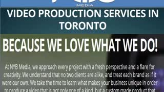 NYB Media Video Production Toronto - Video