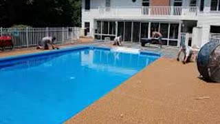 Pool Deck Resurfacing Kansas City - Video